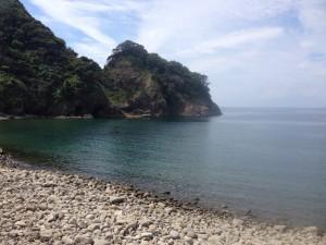 浮島海岸_左側の海岸