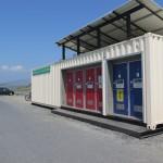 沖ノ島のトイレ
