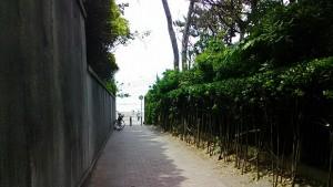 一色海岸入口