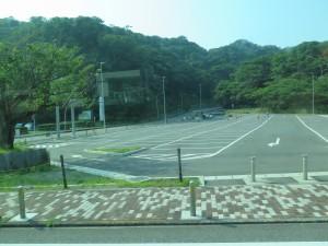 観音崎の駐車場