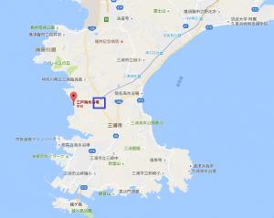 三戸浜地図