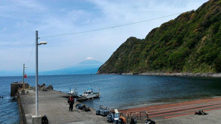 井田海岸の様子