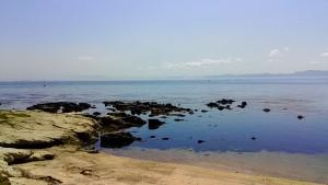 燈明堂海岸のBポイント