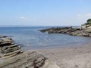 沖ノ島まるでプライベートビーチ