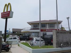 三浦海岸のマック