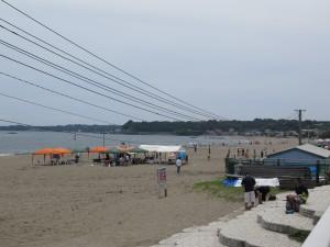三浦海岸沿いを歩く