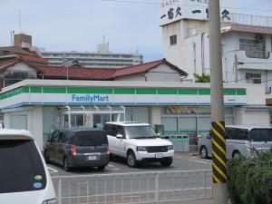 三浦海岸のファミリーマート