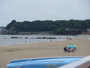 三浦海岸の岩場