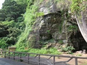 観音崎の洞窟