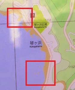 琴ヶ浜シュノーケリングポイント