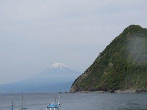 井田で富士山